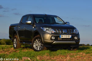 Essai Mitsubishi L200 Pick-up 2015