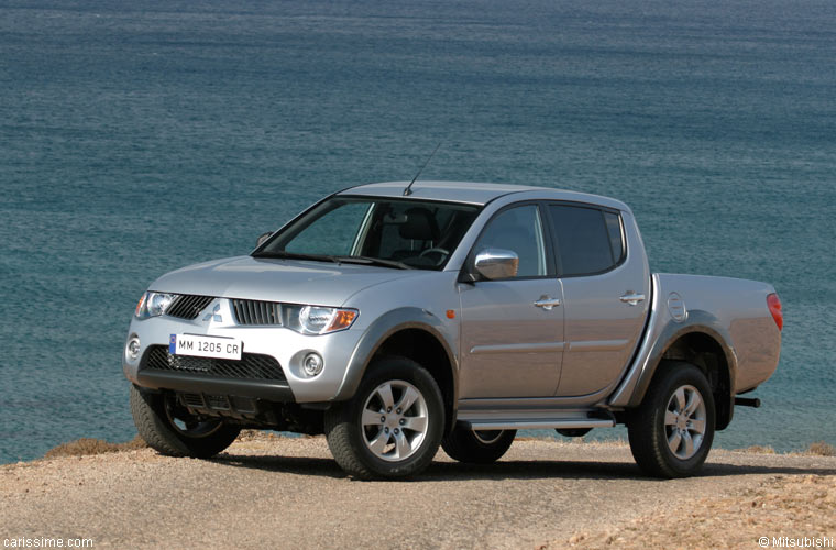 Mitsubishi L200 4 2007 4x4 Pick-up