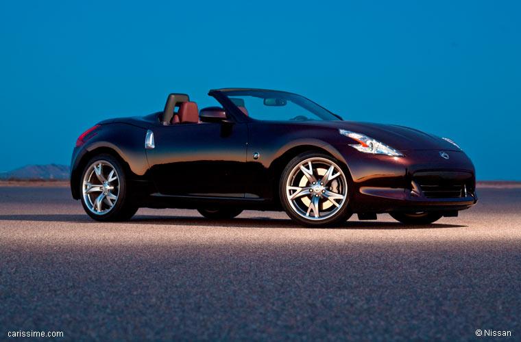 nissan 370z cabriolet 2010 2013 voiture occasion. Black Bedroom Furniture Sets. Home Design Ideas