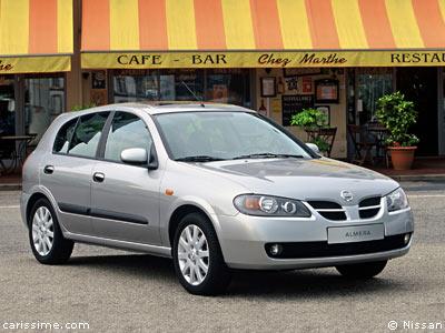 nissan almera 2000 2005 voiture compacte. Black Bedroom Furniture Sets. Home Design Ideas