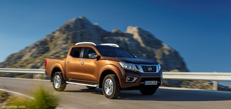 nissan navara 2 pick up 2015 carissime l 39 info automobile. Black Bedroom Furniture Sets. Home Design Ideas