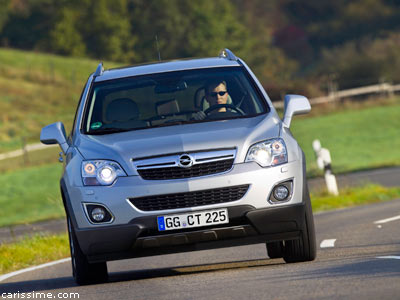 opel antara restylage 2011 voiture 4x4 4x2 suv familial. Black Bedroom Furniture Sets. Home Design Ideas