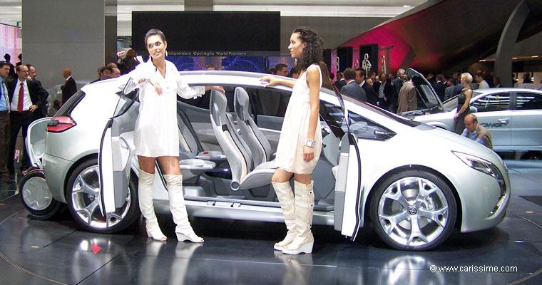 Opel flextreme concept salon de l 39 automobile francfort 2007 for Salon auto francfort