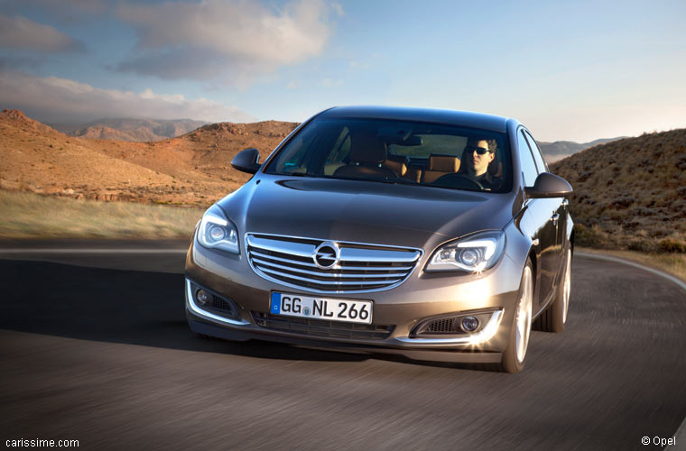 Opel Insignia Restylage 2013