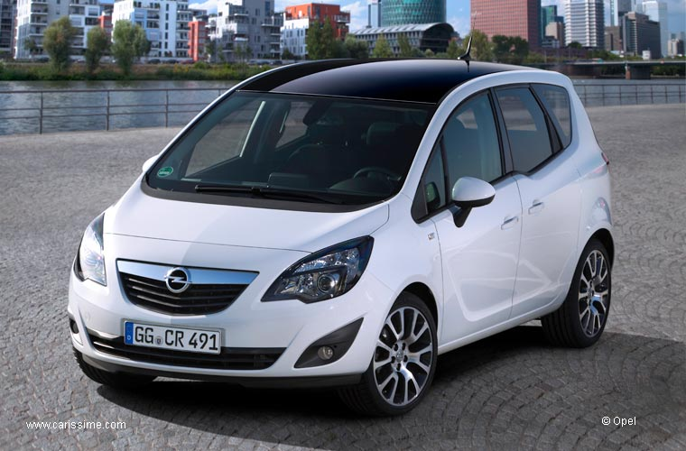 opel meriva ii black white edition voiture opel meriva auto neuve occasion. Black Bedroom Furniture Sets. Home Design Ideas