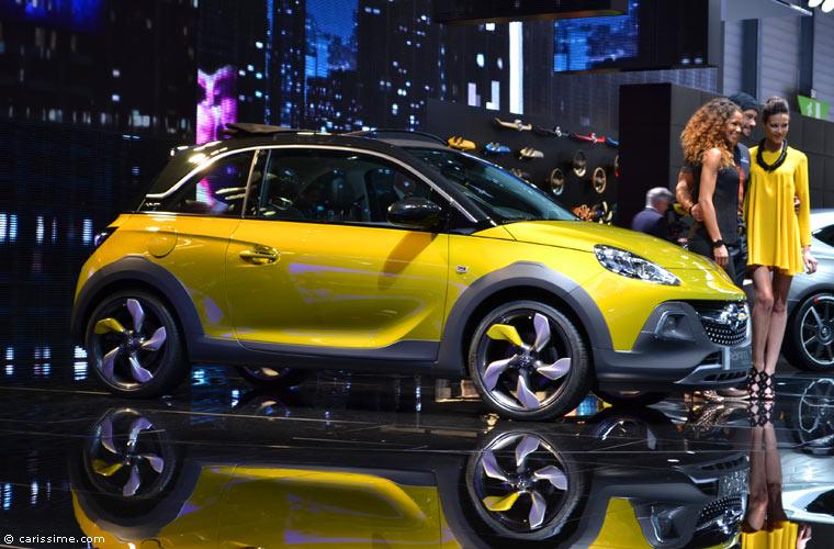 Opel au salon automobile de gen ve 2014 photos for Salon de geneve 2014