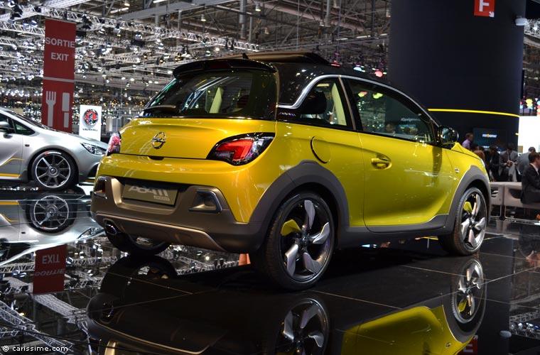 Opel au salon automobile de gen ve 2014 photos for Salon d auto geneve