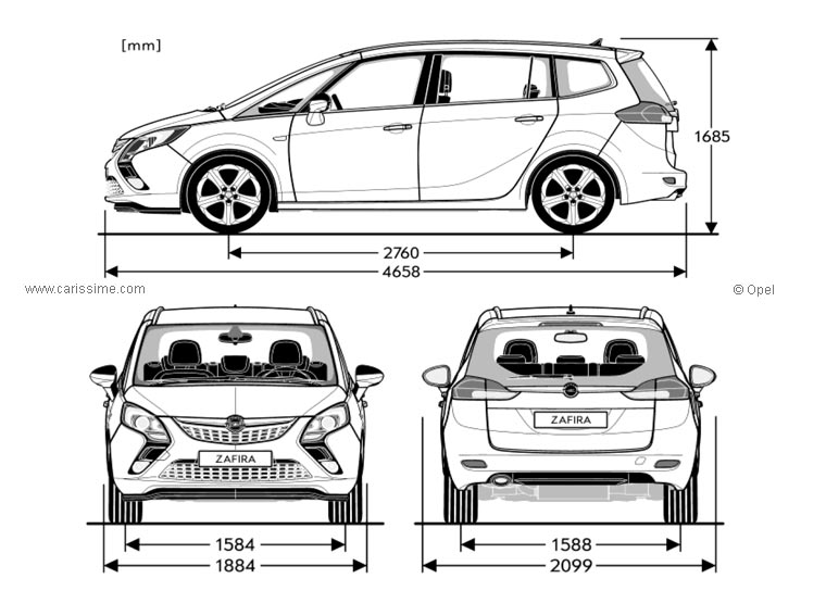 list of synonyms and antonyms of the word  opel zafira