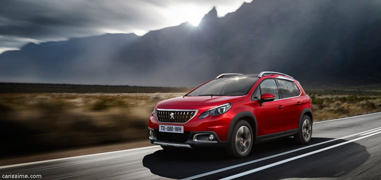 Peugeot 2008 Crossover 2016