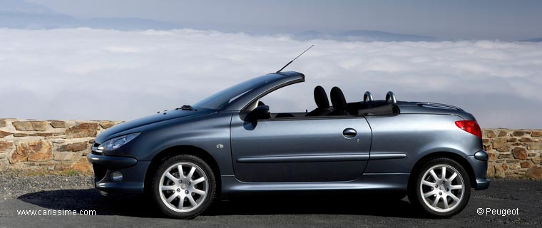 peugeot 206 cc cabriolet voiture neuve occasion. Black Bedroom Furniture Sets. Home Design Ideas