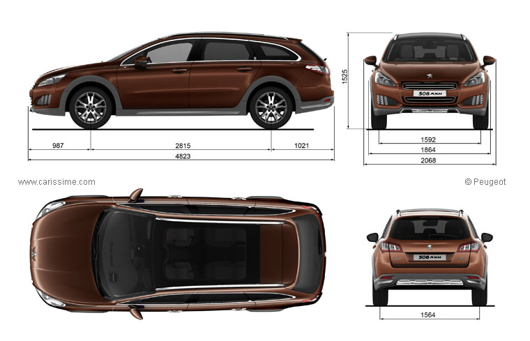 peugeot 508 rxh 4x4 hybride fiche technique dimensions. Black Bedroom Furniture Sets. Home Design Ideas