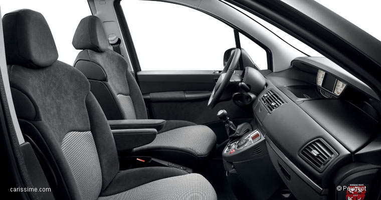 Peugeot 807 2002 2014 voiture grand monospace for Interieur 807 peugeot