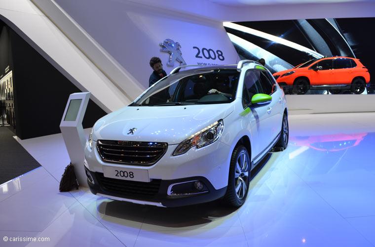 Peugeot au salon automobile de gen ve 2013 photos for Salon d auto geneve