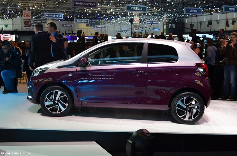 Peugeot au salon automobile de gen ve 2014 photos for Salon d auto geneve