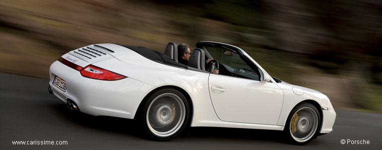 porsche 911 carrera 4 cabriolet et carrera 4s cabriolet 997 voiture occasion. Black Bedroom Furniture Sets. Home Design Ideas