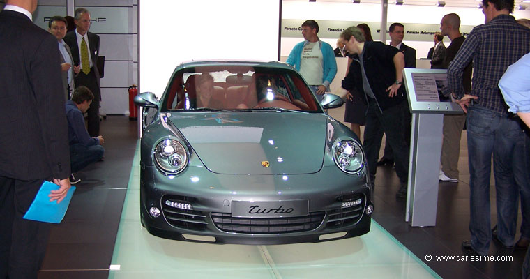 porsche 911 turbo salon de l 39 automobile francfort 2009. Black Bedroom Furniture Sets. Home Design Ideas