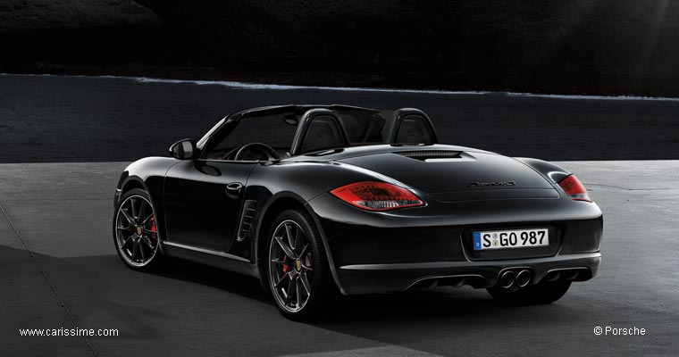 porsche boxster 1 restylage 2009 s black edition voiture occasion. Black Bedroom Furniture Sets. Home Design Ideas