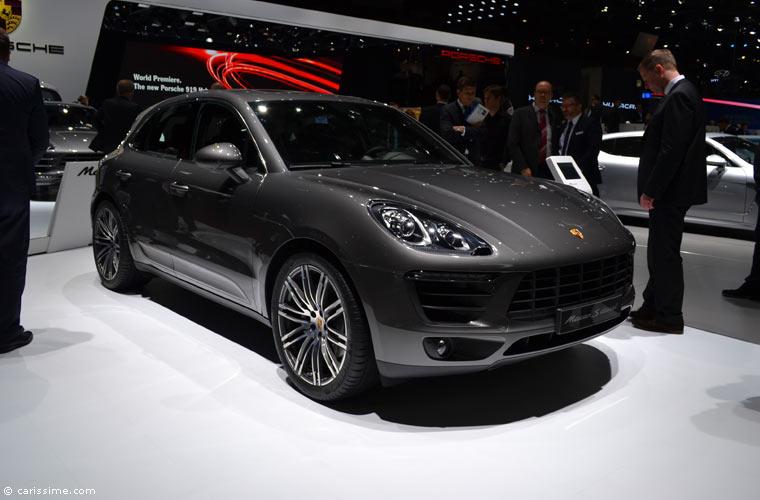 Porsche au salon automobile de gen ve 2014 photos for Salon de geneve 2014