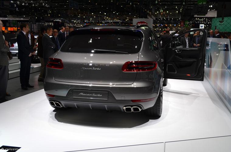 Porsche au salon automobile de gen ve 2014 photos for Salon d auto geneve