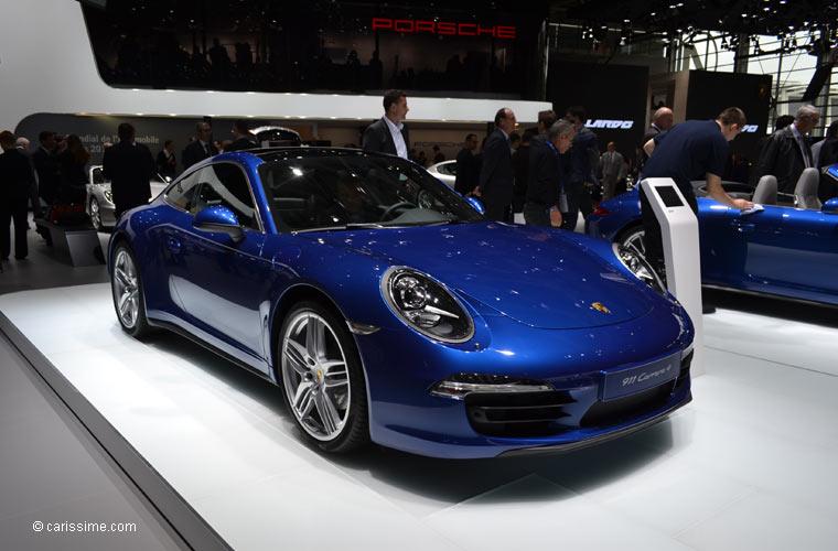 Porsche au salon automobile de paris 2012 photos for Salon de paris auto
