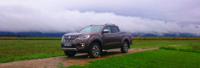 Essai Renault Alaskan Pick Up 2017