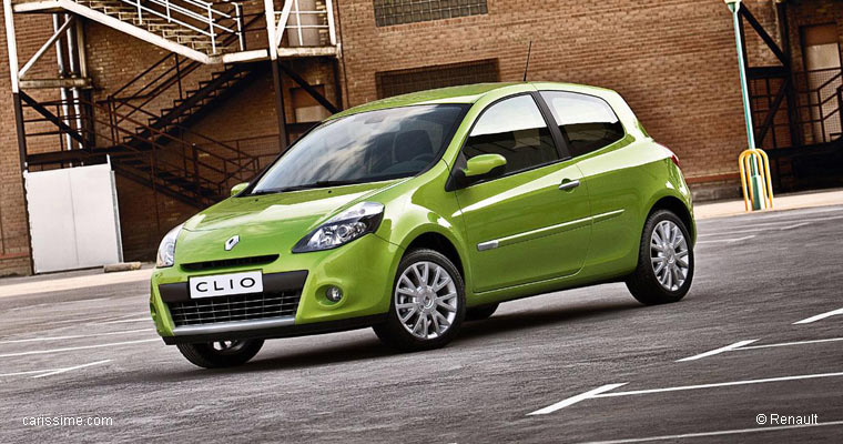 Renault Clio 3 Restylage 2009 / 2012