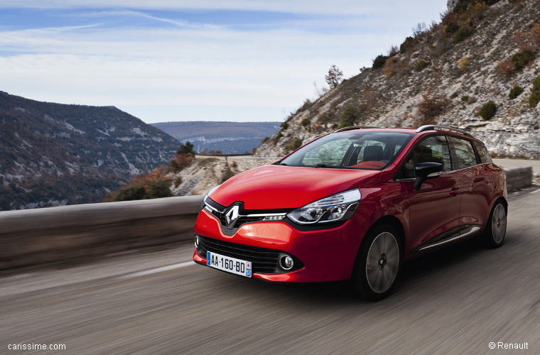 Renault Clio 4 Break Estate 2012