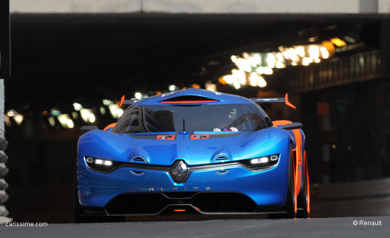 renault alpine a110 50 circuit de monaco voiture concept car. Black Bedroom Furniture Sets. Home Design Ideas