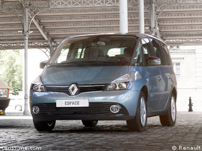 renault espace 4 restylage 2012 2014 grand monospace. Black Bedroom Furniture Sets. Home Design Ideas