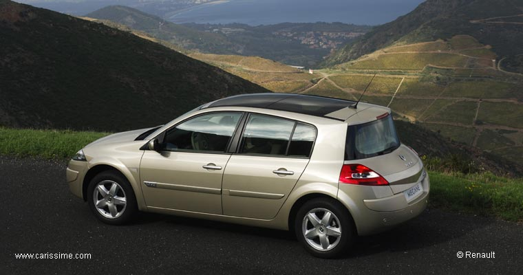 renault megane 2 restylage 2006 voiture occasion. Black Bedroom Furniture Sets. Home Design Ideas