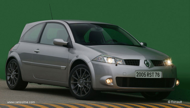renault megane 2 rs trophy s rie sp ciale 2005. Black Bedroom Furniture Sets. Home Design Ideas