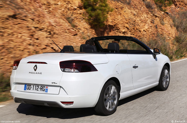 renault megane cc cabriolet restylage 2014. Black Bedroom Furniture Sets. Home Design Ideas