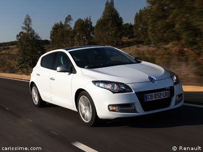 renault megane 3 restylage 2012 voiture compacte. Black Bedroom Furniture Sets. Home Design Ideas