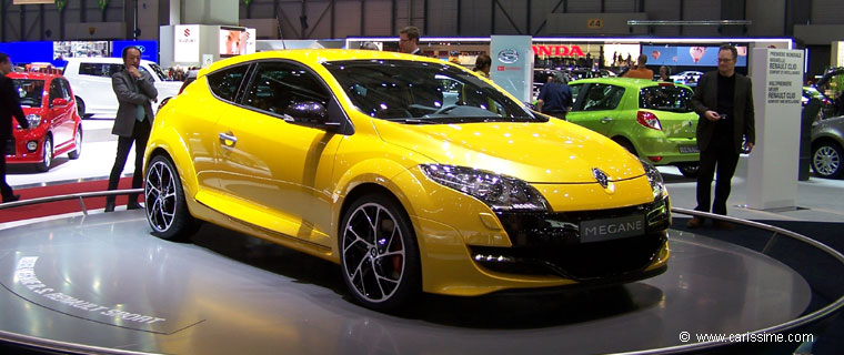 renault megane rs salon de l 39 automobile geneve 2009. Black Bedroom Furniture Sets. Home Design Ideas