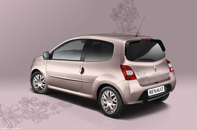 renault twingo 2 miss sixty s rie sp ciale 2010. Black Bedroom Furniture Sets. Home Design Ideas