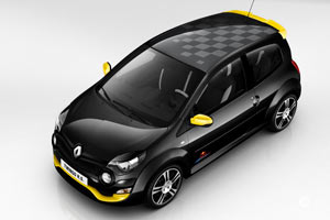 renault twingo 2 rs red bull racing rb7 s rie sp ciale 2012. Black Bedroom Furniture Sets. Home Design Ideas