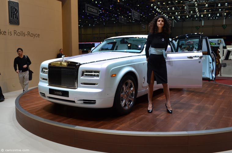 rolls royce au salon automobile de gen ve 2015 photos. Black Bedroom Furniture Sets. Home Design Ideas