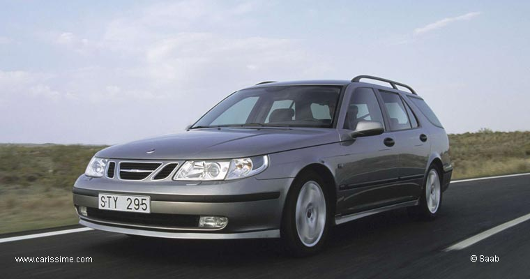 Saab 9-5 Estate Aero Occasion