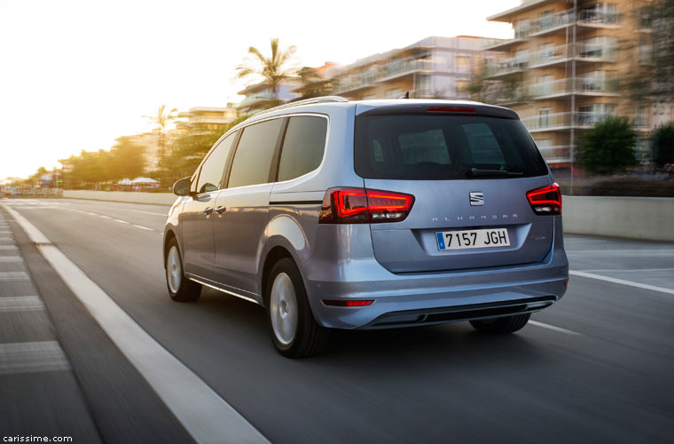 Seat Alhambra 2015 Grand Monospace restylage