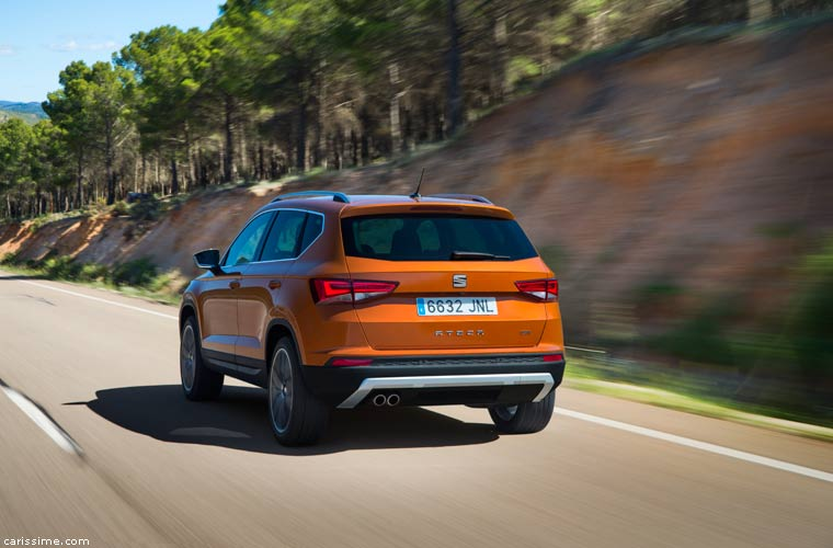 Seat Ateca SUV Compact 2016