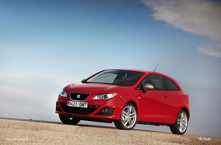 seat ibiza 2 fr 2009 2012 voiture occasion. Black Bedroom Furniture Sets. Home Design Ideas