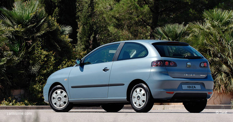seat ibiza 1 ecomotive restylage 2006 voiture neuve. Black Bedroom Furniture Sets. Home Design Ideas