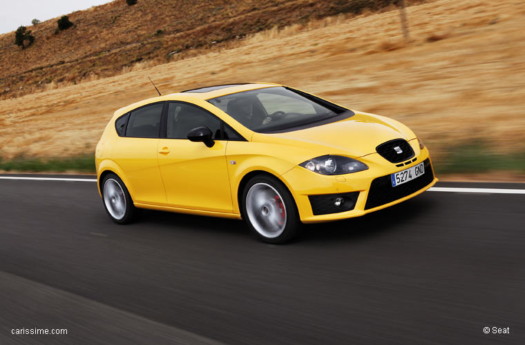 seat leon 2 cupra restylage 2009. Black Bedroom Furniture Sets. Home Design Ideas