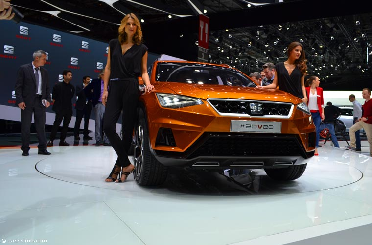 Seat Au Salon Automobile De Gen 232 Ve 2015 Photos