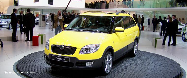 Skoda fabia scout salon de l 39 automobile geneve 2009 for Skoda salon de geneve