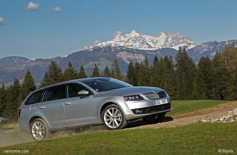 Skoda Octavia 3 Break Combi 2013