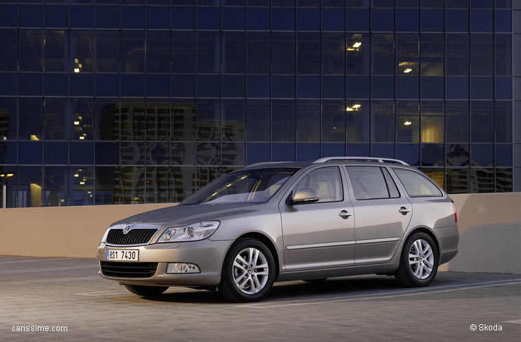 skoda octavia break combi restylage 2008 2012. Black Bedroom Furniture Sets. Home Design Ideas