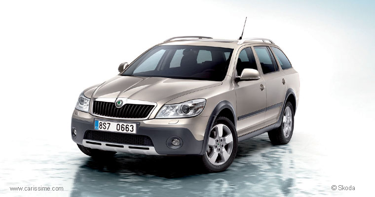 skoda octavia scout restylage 2008 voiture neuve occasion nouveaut auto. Black Bedroom Furniture Sets. Home Design Ideas