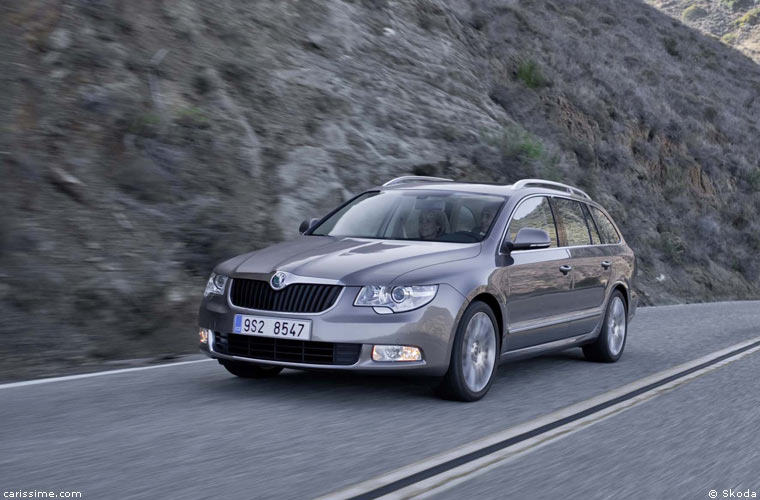 Skoda Superb 2 Break Combi 2009 / 2015