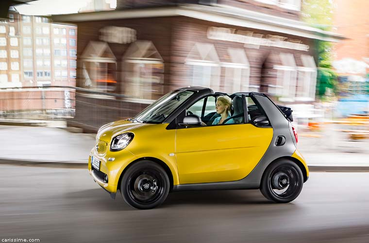 smart 3 cabrio 2016 carissime l 39 info automobile. Black Bedroom Furniture Sets. Home Design Ideas